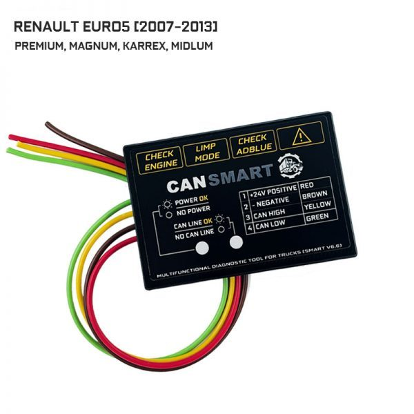 Adblue Emulator RENAULT EURO5 Can Smart